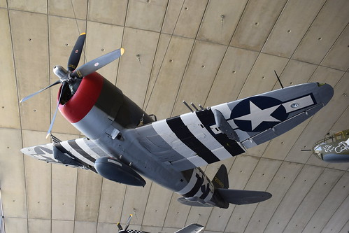 Republic P-47D Thunderbolt at the IWM, Duxford