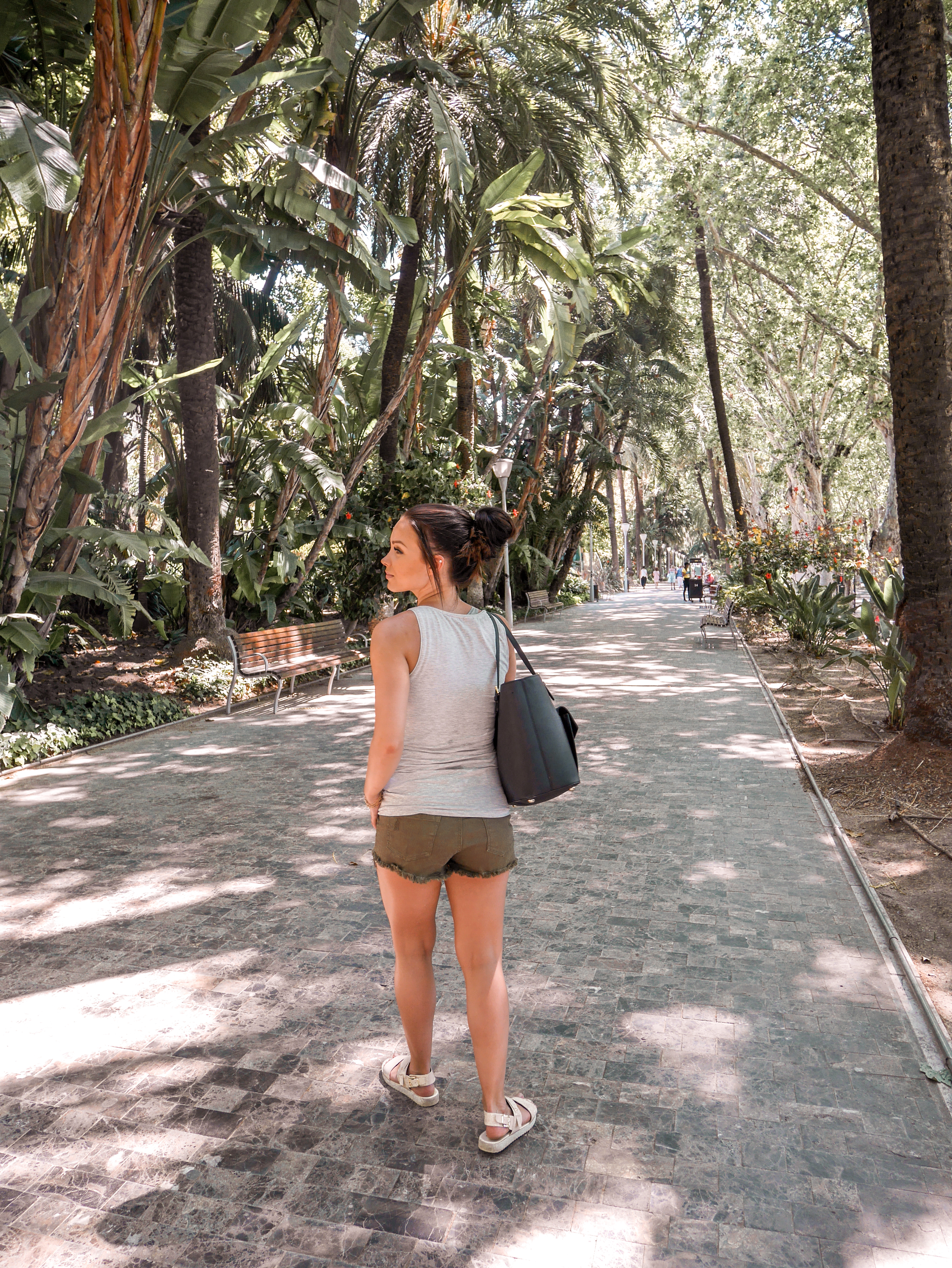 Malaga puistot