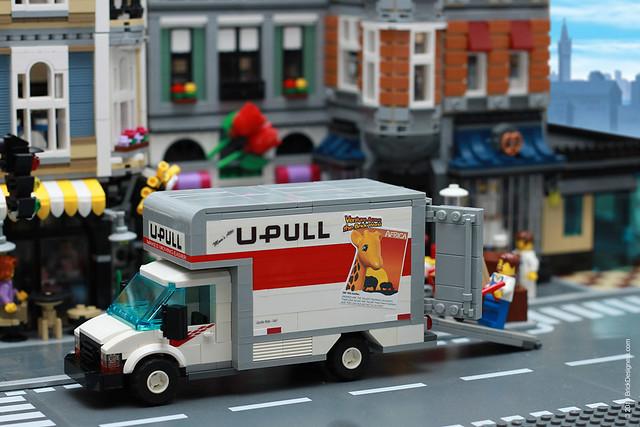 "Moving Truck - ""U-Pull"""