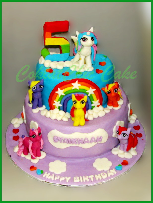 Cake My Little Pony SYAIKHAAH 15 cm