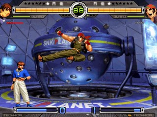 KOF Zillion Gameplay-1