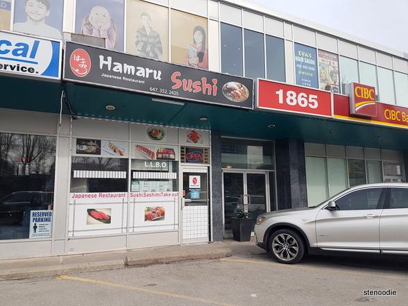 Hamaru Sushi storefront