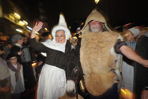 Olentzero eta Mari Domingi Andoainen