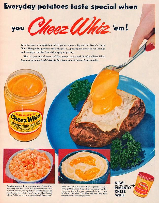 Kraft Cheez Whiz 1954