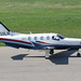 N850LH - 2006 build Socata TBM850, taxiing for departure on Runway 24 at Friedrichshafen during Aero 2018