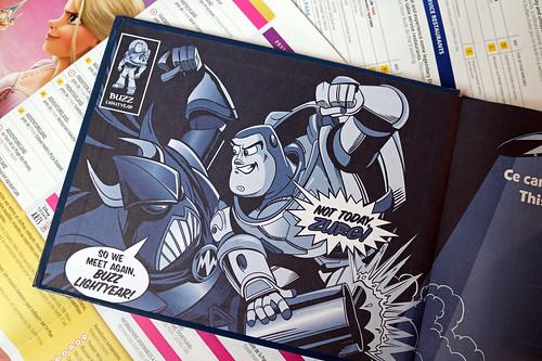 Buzz Lightyear Laser Blast notebook