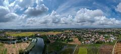 Vietnam, Quảng Nam, Hội An (Aerial Pano)