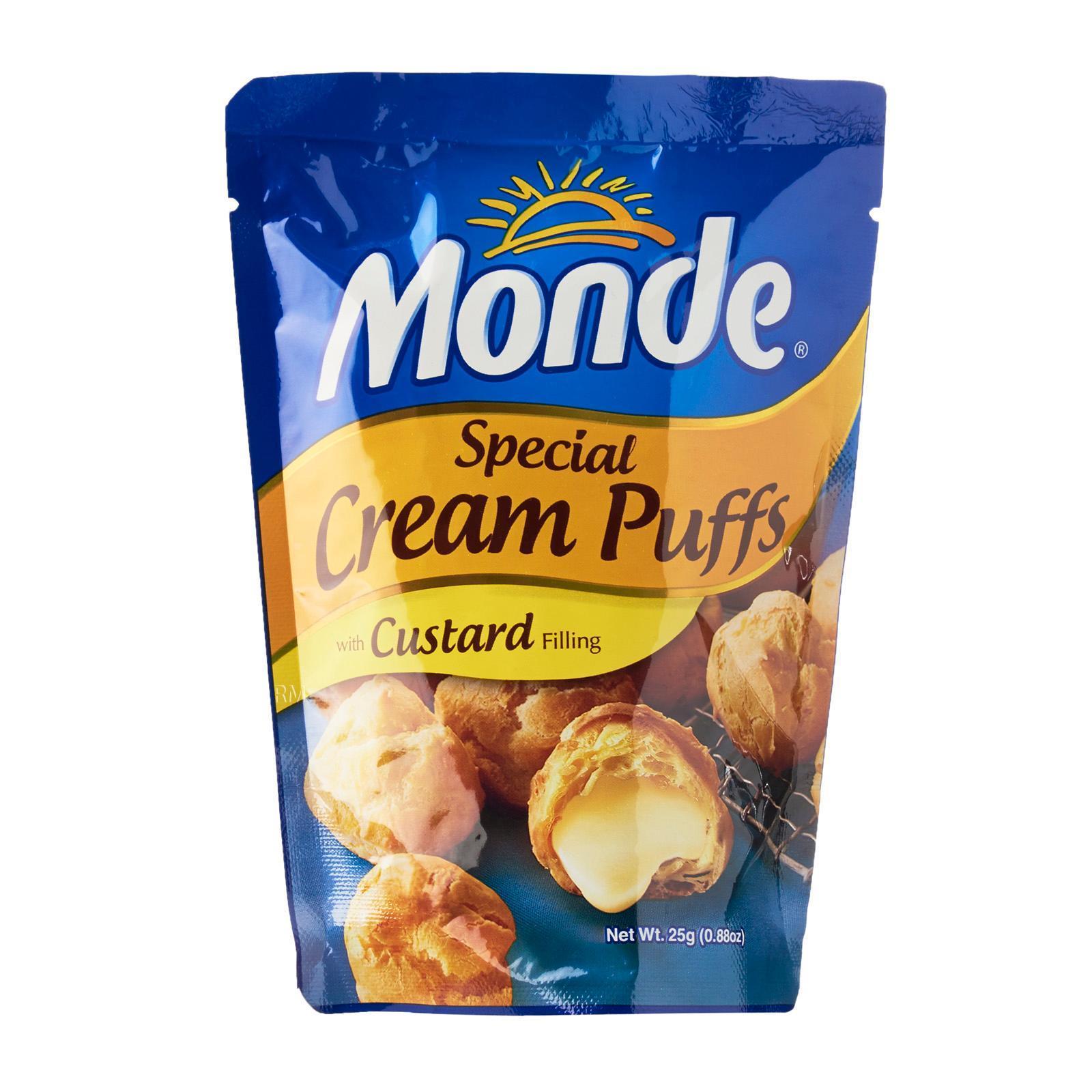 Monde special cream puffs泡芙