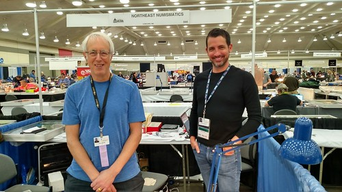 Tom Caldwell Chris Clements Northeast Numismatics 2019-03 Whitman Coin Expo