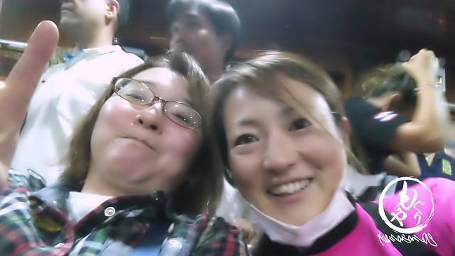 純子さんと美紗子もぱしゃり♪