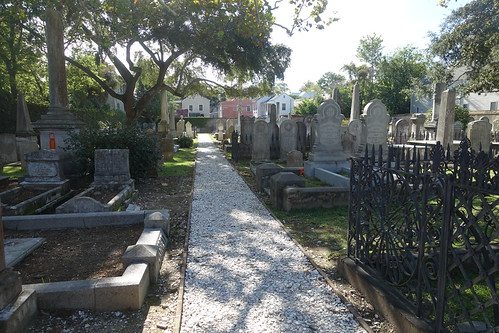 The Coming Street Cemetery. From History Comes Alive in Charleston