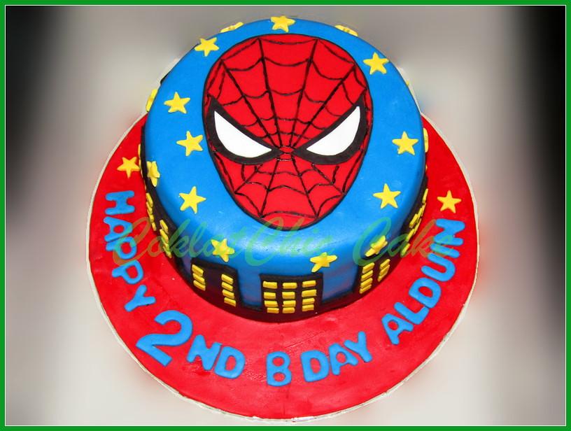 Cake Spiderman ALDUIN 15 cm
