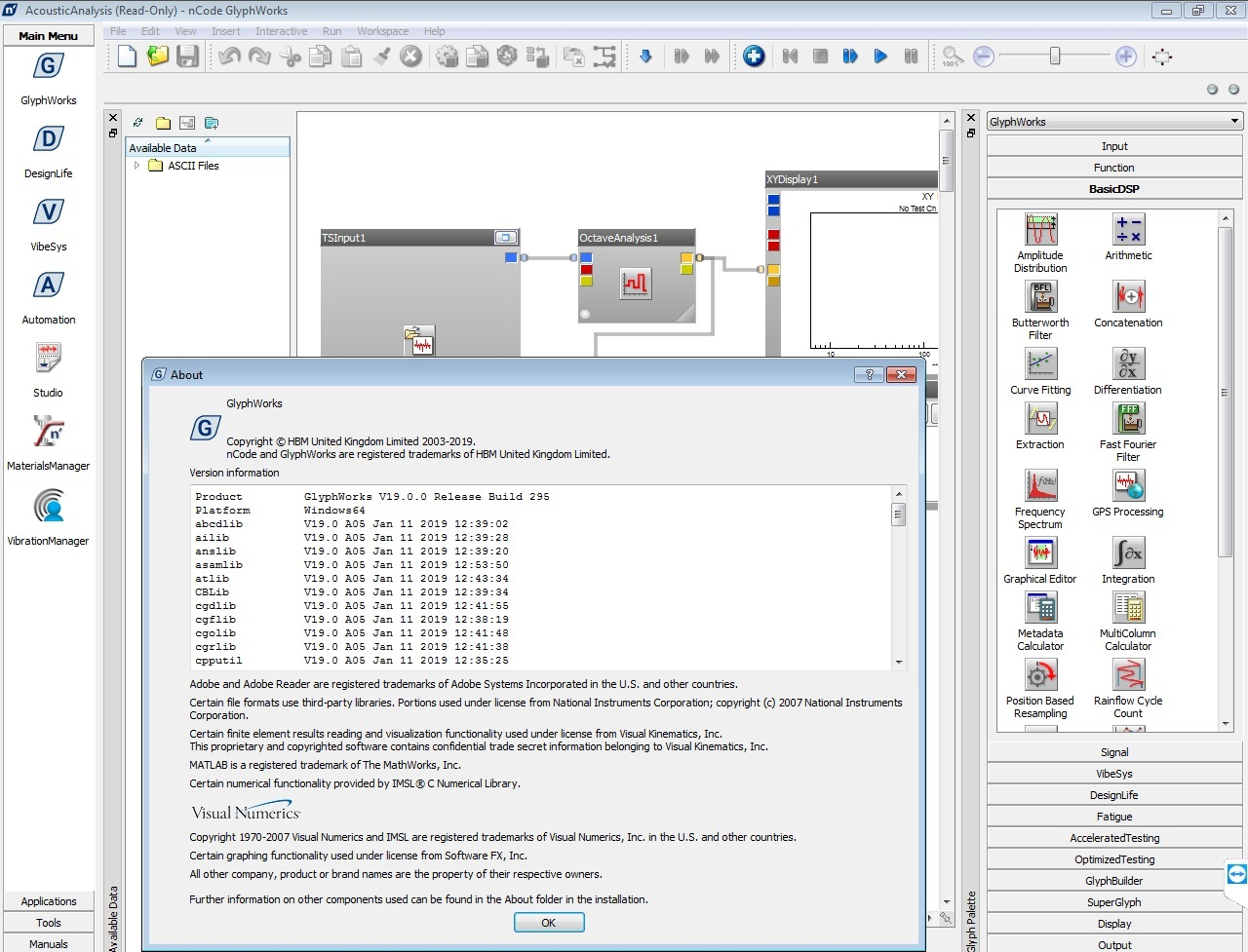 Working with HBM nCode 2019.0 full license