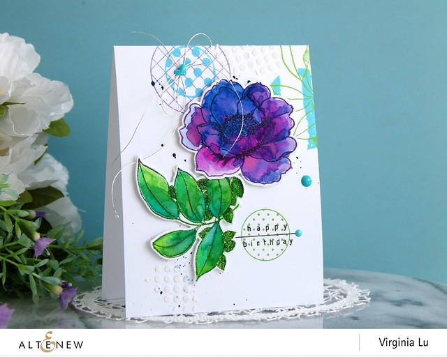 Altenew-WallpaperArtStampDieBundle-Virginia#1