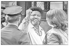 Williams arrested in anti-poverty protest: 1971
