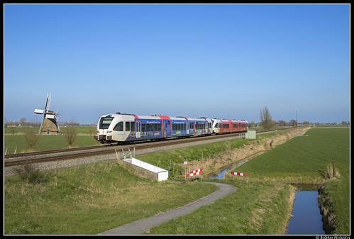 Arriva 10336+10317, Visvliet