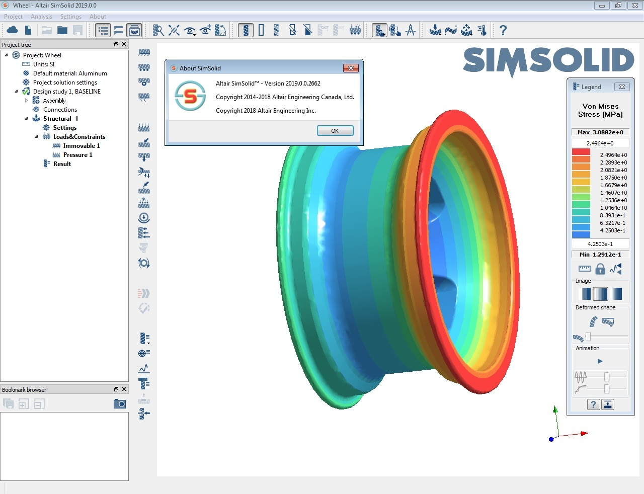 Working with Altair SimSolid 2019.0.0.2662 full license