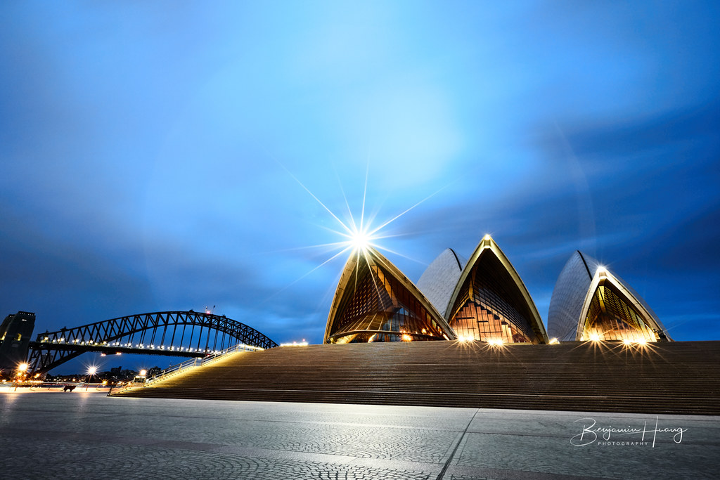 Blue Hour Sydney Opera House