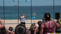 Zumba Junto al Mar en Playa del Deporte