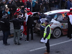 Latvala coming in for Service at Monte-Carlo Rally - Photo of Lettret