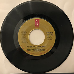 TEDDY PENDERGRASS:LOVE T.K.O.(RECORD SIDE-B)