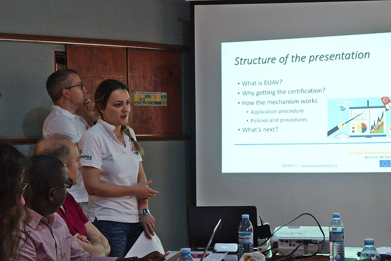 Anpas all'Inception Workshop in Kampala
