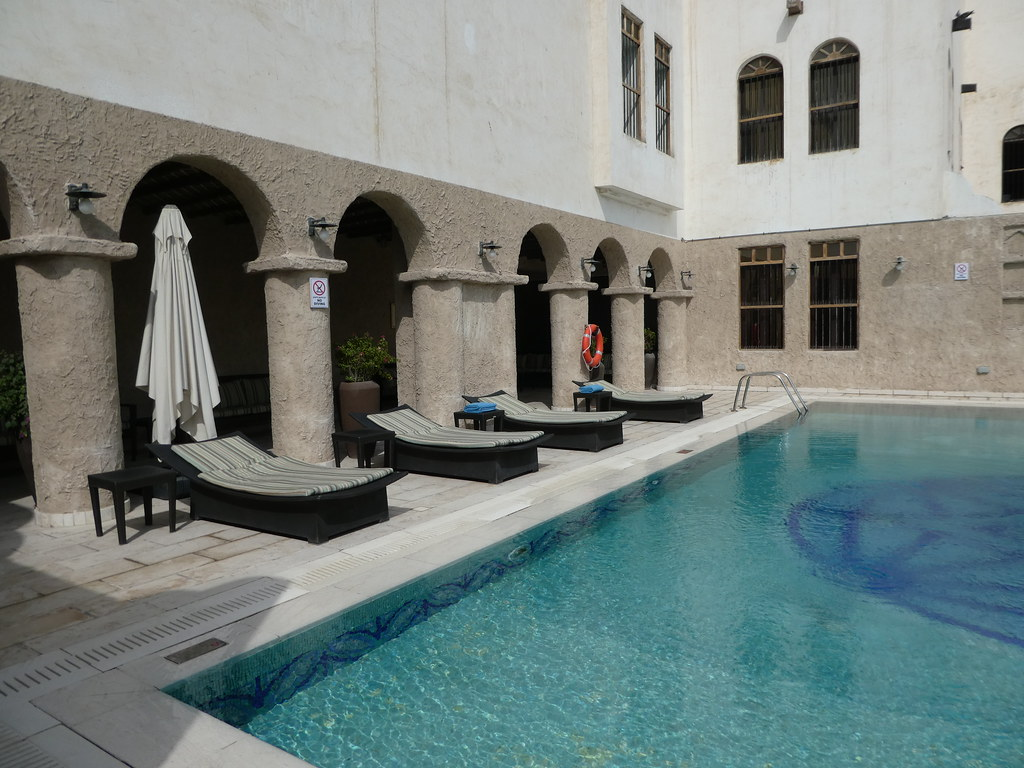 Rooftop pool, Souq Waqif Boutique Hotel Doha