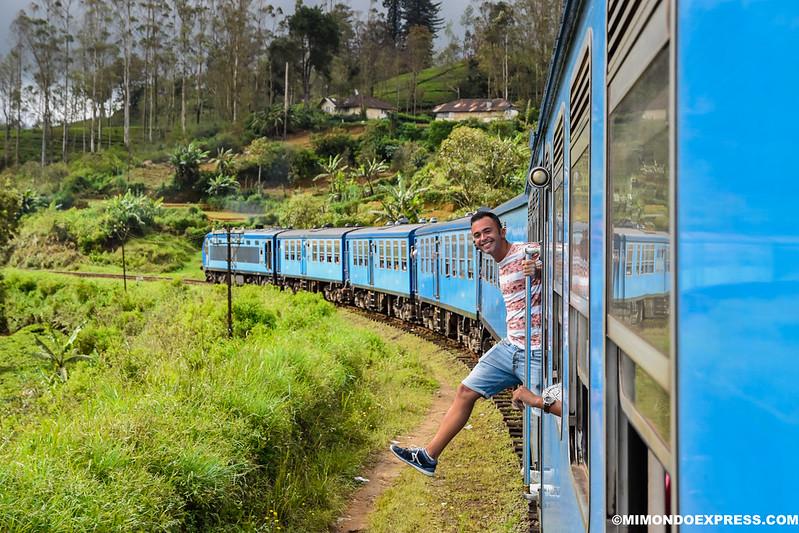 Sri Lanka Tren tierras altas