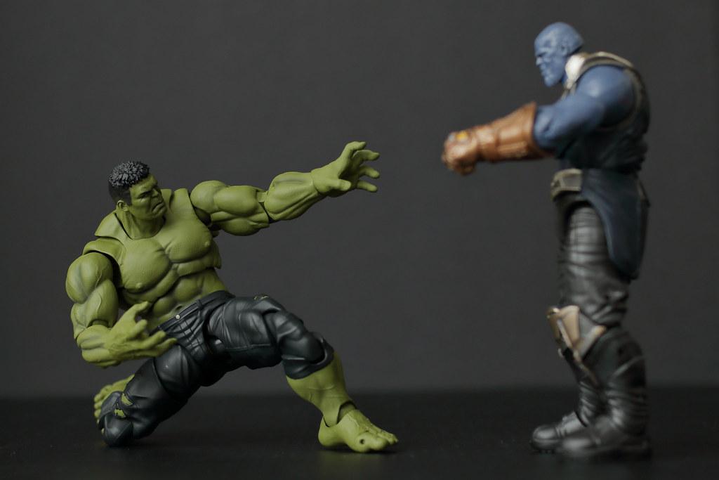 Hulk & Thanos