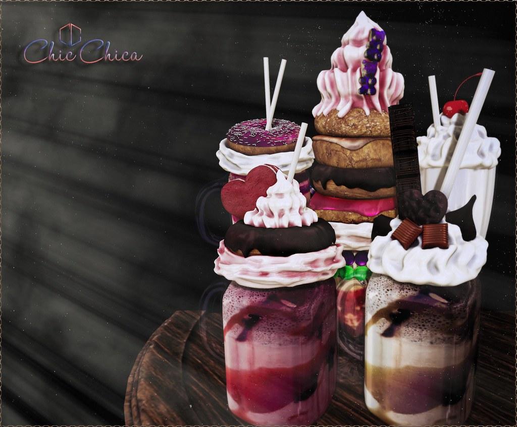 MilkShake gacha by ChicChica @ Arcade soon