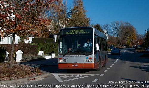 STIB 8027 - Navette Kraainem
