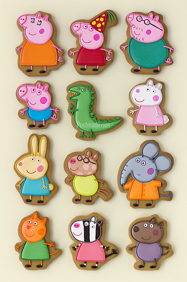 peppa pig galletas