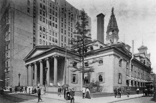2nd Philadelphia Mint with columns