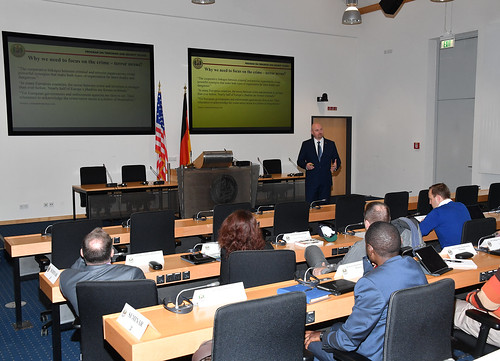 PTSS 19-07 Participants Learn about Crime and Terror