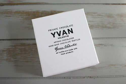 YVAN VALENTINのトリュフチョコ