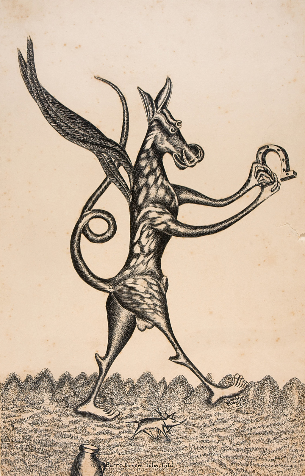 1 franklin Cascaes - desenhos e esculturas