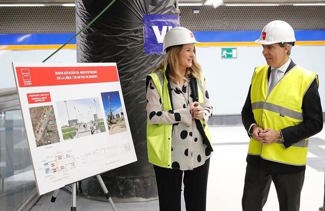 Photo:La Comunidad de Madrid abrirá la estación de Metro de Arroyofresno el próximo 23 de marzo By Comunidad de Madrid