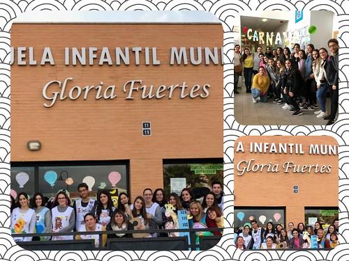 Visita a la Escuela Infantil Gloria Fuertes