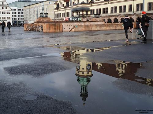 Heute war Pfützen - Foto - Wetter