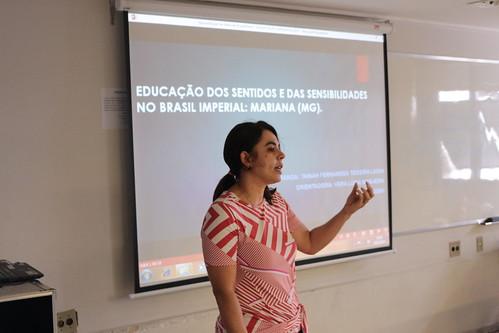 """Tainah Fernandes Teixeira Lessa - """"EDUCAÇÃO DOS SENTIDOS E DAS SENSIBILIDADES NO BRASIL IMPERIAL: MARIANA (MG)"""""""