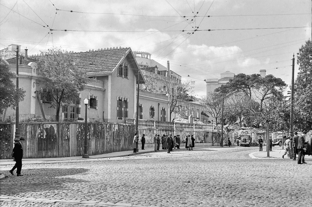 Colégio Normal de Lisboa, Saldanha, 1945. Roiz, in Arquivo Fotográfico da C.M.L.