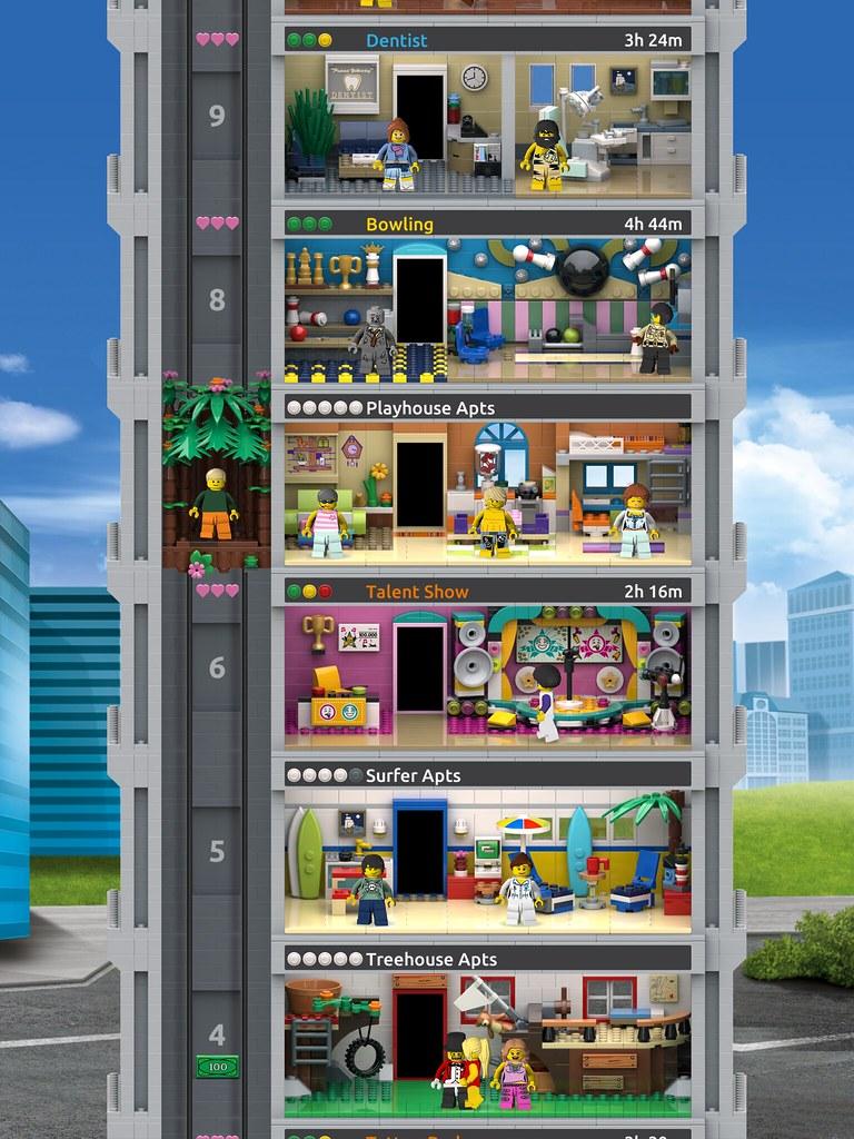 打造擁有獨特風格的樂高大廈! LEGO × NimbleBit《LEGO Tower》預計將於2019年夏天登陸iOS、Android 平台!