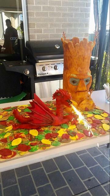 Dragon Cake by Emma-lee Knight Alliu