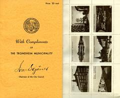 Brevmerker til verdensutstillingen i New York 1939
