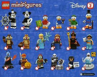 Disney Series 2 CMF box distribution