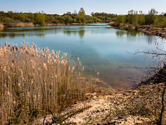 Lac de l'ancienne carrière du Font de Benon - Photo of Taillant