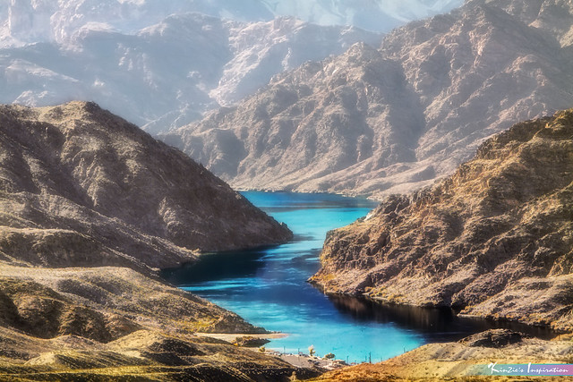River in the Desert *A Beautiful Nature*