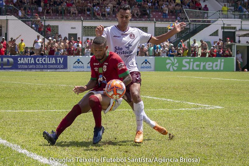 Portuguesa Santista 1 x 0 Juventus, jogo válido pelo Paulistão A2 de 2019, disputado no dia 24 de fevereiro, no estádio Ulrico Mursa