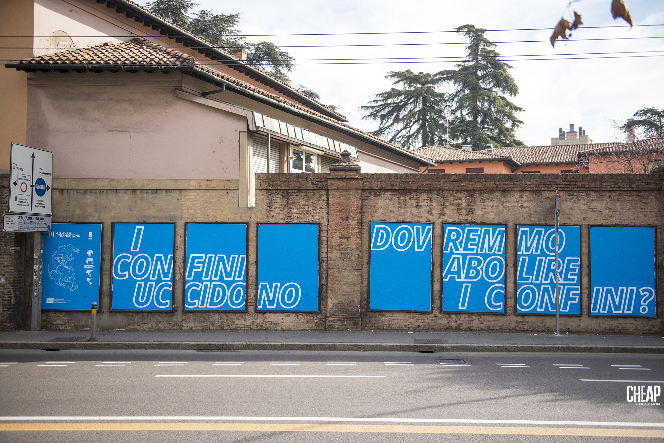 CHEAP X Tania Bruguera | Referendum | Atlas of Transitions HOME | Viale Ercolani, Bologna