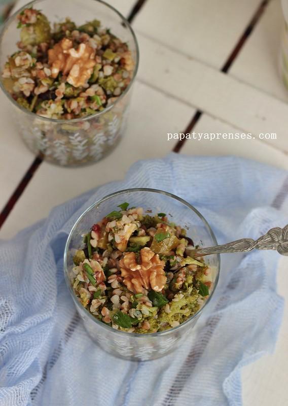 karabuğdaylı brokoli salatası (7)